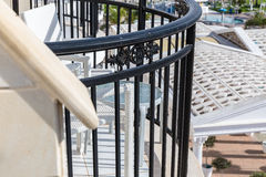 Balcony of the Hotel Royalty Free Stock Image