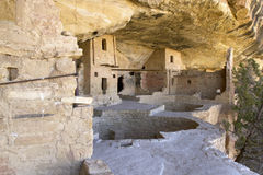 Balcony House Dwellings in Mesa Verde National Par Royalty Free Stock Photo