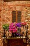 Balcony In Tuscany Stock Photos