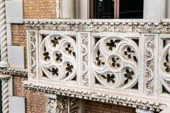 Balcony with Italian design Stock Image