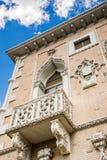 Balcony with Italian design Stock Photo