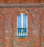 Balcony in Italian old house Royalty Free Stock Images