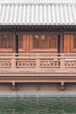 Balcony in japanese style Stock Images