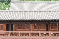 Balcony in japanese style Stock Photo