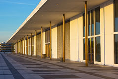 Balcony of The John F. Kennedy Center for Performing Arts at sunset before concert. Stock Photos