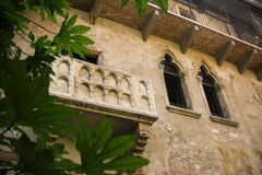 Balcony of Juliet Royalty Free Stock Images