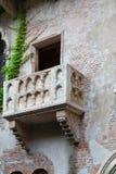 Balcony of Juliet and romeo Royalty Free Stock Photo
