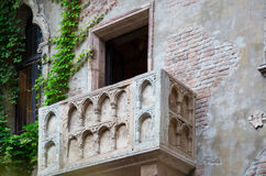 Balcony of Juliet and romeo Stock Photo