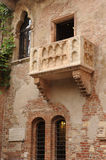 Balcony of Juliet at Verona Royalty Free Stock Photo