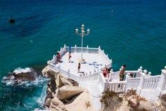 Balcony of the Mediterranean, Benidorm, Spain Stock Images