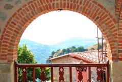 Balcony Monastery Royalty Free Stock Photos