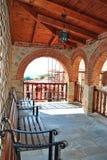 Balcony monastery Royalty Free Stock Photo
