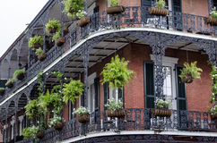 Balcony, New Orleans Royalty Free Stock Photo