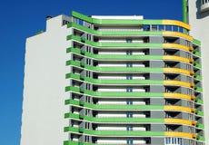 Balcony of new residential house Stock Photos