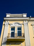 Balcony in an old building Royalty Free Stock Image