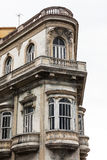 The balcony of old building Royalty Free Stock Photography
