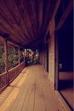 Balcony of old house Royalty Free Stock Photo