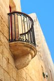 Balcony of old  Maltese house Stock Photo