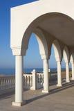 Balcony over Aegean Sea Stock Photos