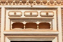 Balcony on Paigah tombs Stock Photo