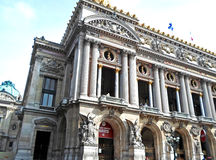 The balcony The Palais Garnier. Paris Opera House in Paris, France Royalty Free Stock Images