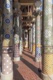 Balcony of Palau de la Musica Catalana Royalty Free Stock Images