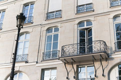 Balcony in Paris Royalty Free Stock Photography