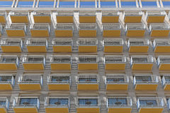 Balcony pattern Stock Image