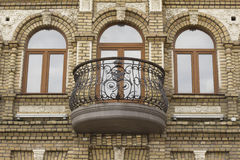 Balcony on a private building Stock Images