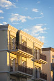 Balcony with Railing Stock Image