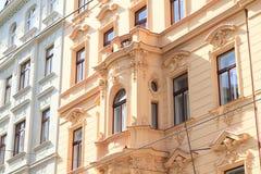 Balcony on renaisance house Royalty Free Stock Images