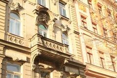 Balcony on renaisance house Stock Photography