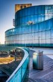Balcony at Revel Casino Hotel in Atlantic City, New Jersey. Stock Images