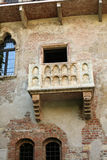 Balcony Romeo & Juliet. Juliet's balcony in Verona Italy from the romantic story of Romeo & Juliet by William Shakespeare Stock Photography