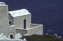 Balcony at sea Stock Image
