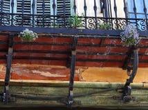 Balcony, Segovia Royalty Free Stock Photography