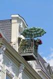 Balcony_sunshade imagem de stock royalty free