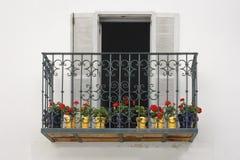 Balcony from Tarifa royalty free stock photos