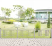 Balcony And Terrace Of Blur Exterior Background. Balcony And Terrace Of The Blur Exterior Background royalty free stock images