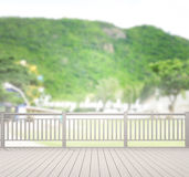 Balcony And Terrace Of Blur Nature Background. Balcony And Terrace Of The Blur Nature Background royalty free stock images