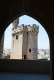 Balcony to the defences Stock Photo