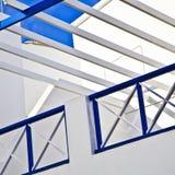 Balcony under blue sky Stock Image