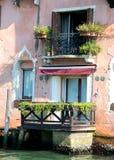 Balcony in Venice Stock Photos