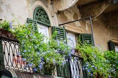 Balcony in Verona Stock Photography