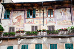 Balcony in Verona Royalty Free Stock Images