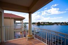 Balcony View Royalty Free Stock Photography