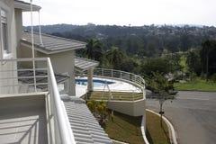 Balcony view Stock Image