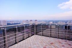 Balcony view, Kiev, Ukraine. A balcony view, Kiev, Ukraine Royalty Free Stock Images