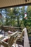 Balcony with View of North Carolina Royalty Free Stock Photos