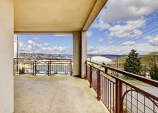 Balcony view on the Tacoma Dome. Stock Photography
